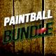 Bundle Grunge Paintball Flyer - GraphicRiver Item for Sale