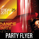 Dance Party Night Flyer / Magazine Cover - GraphicRiver Item for Sale