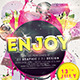 Enjoy Flyer - GraphicRiver Item for Sale
