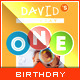 Kid's Happy Birthday Card - Invitation Template - GraphicRiver Item for Sale