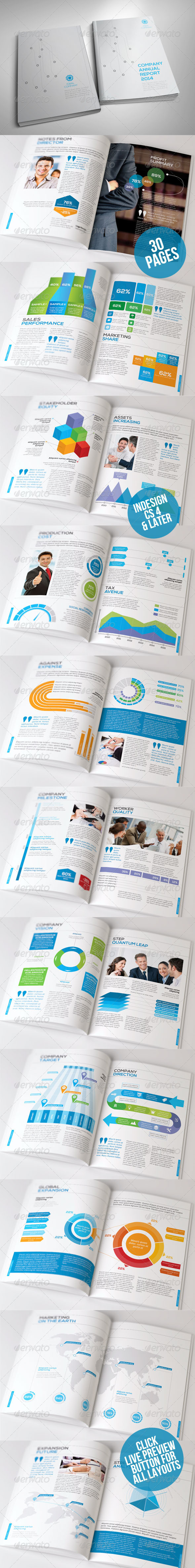 Infographic Annual Report - Corporate Brochures