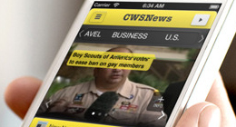 CWSNews - iPhone news app