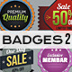 Badges col 2 - GraphicRiver Item for Sale