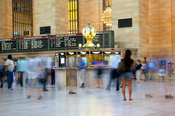 Grand Central Station - Stock Photo - Images