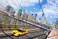 New York City and taxi cab