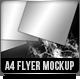 A4 Fresh Flyer/poster Mock up - GraphicRiver Item for Sale
