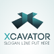 Xcavator - Letter 'X' Logo Template - GraphicRiver Item for Sale