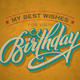 Hand-Lettered Vintage Birthday Card (vector) - GraphicRiver Item for Sale