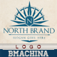 North Brand Logo Template - GraphicRiver Item for Sale