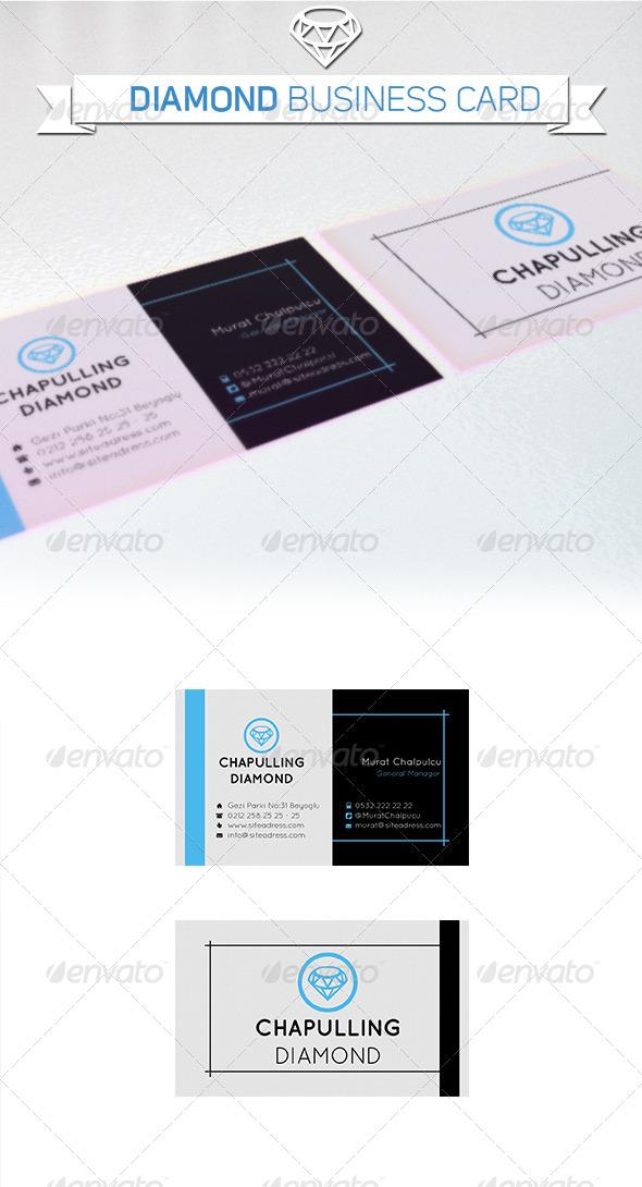 Business card diamond company by graphfix graphicriver business card diamond company corporate business cards colourmoves