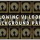 Glowing Vj Loop Background Pack - VideoHive Item for Sale
