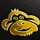 Monkey, Cloud Vector Logo Template - GraphicRiver Item for Sale