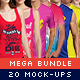 Mega Fashion Mock-Up Bundle - GraphicRiver Item for Sale