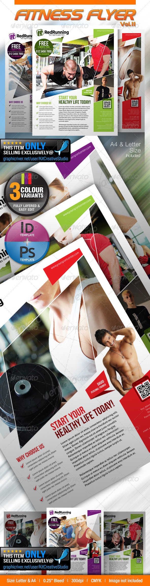 Fitness Flyer Vol.11 - Sports Events