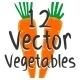Vegetables Vector Pack - GraphicRiver Item for Sale