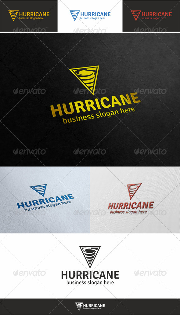 Hurricane Logo Template - Symbols Logo Templates