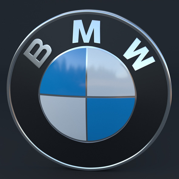 BMW Logo - 3DOcean Item for Sale