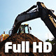 Road Construction -- Excavator Pack 1 (3 Shots) - VideoHive Item for Sale