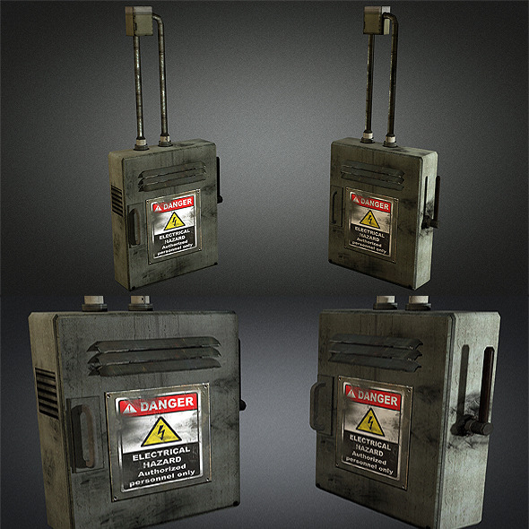 electric fuse box 01 by sickleadzdk 3docean rh 3docean net Vehicle Fuse Box friday the 13th game fuse box