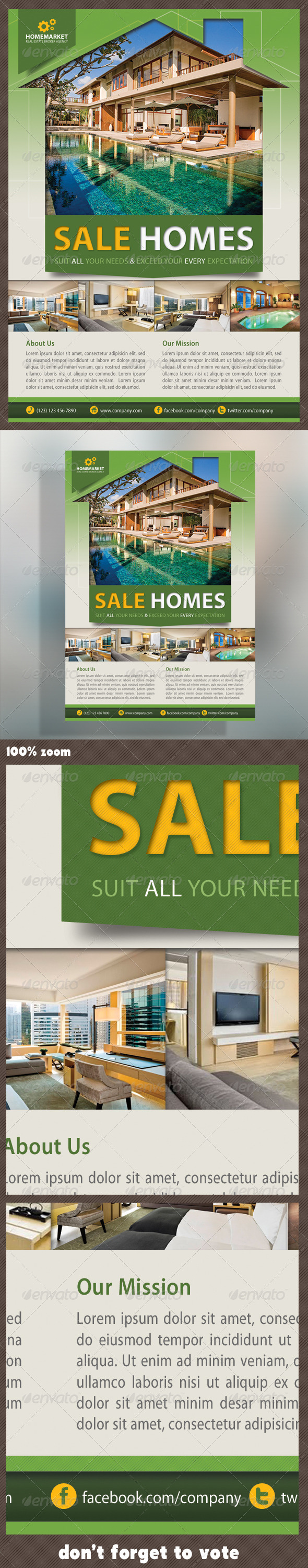 Real Estate Corporate Flyer - Corporate Flyers