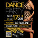 Dance Party Flyer - GraphicRiver Item for Sale