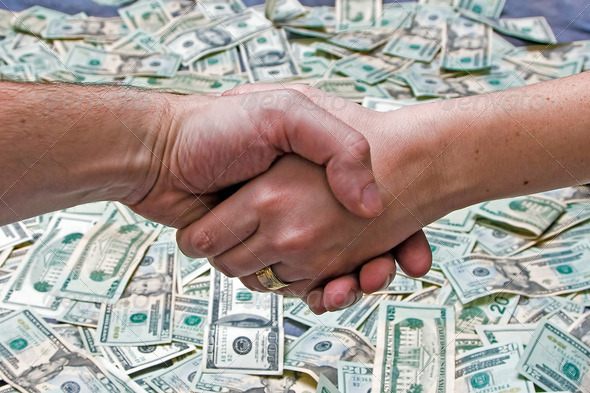 Done deal - Stock Photo - Images