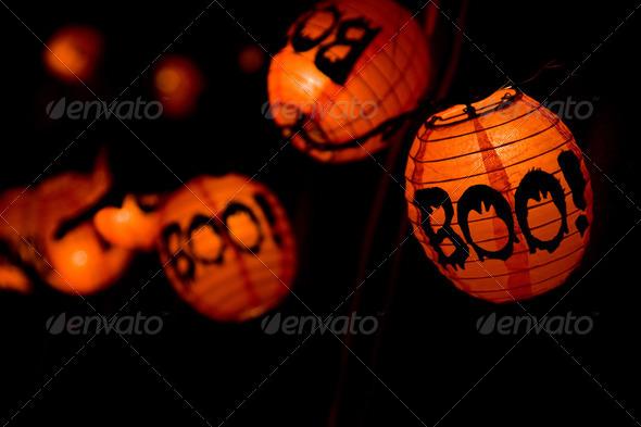 Boo! Halloween - Stock Photo - Images