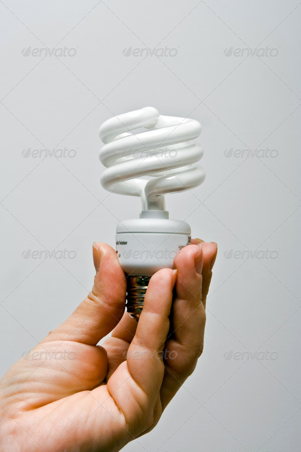 Presenting Power-saver - Stock Photo - Images