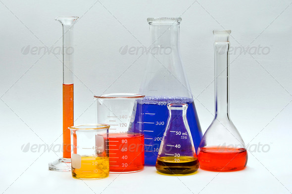 Colorful Chemistry - Stock Photo - Images