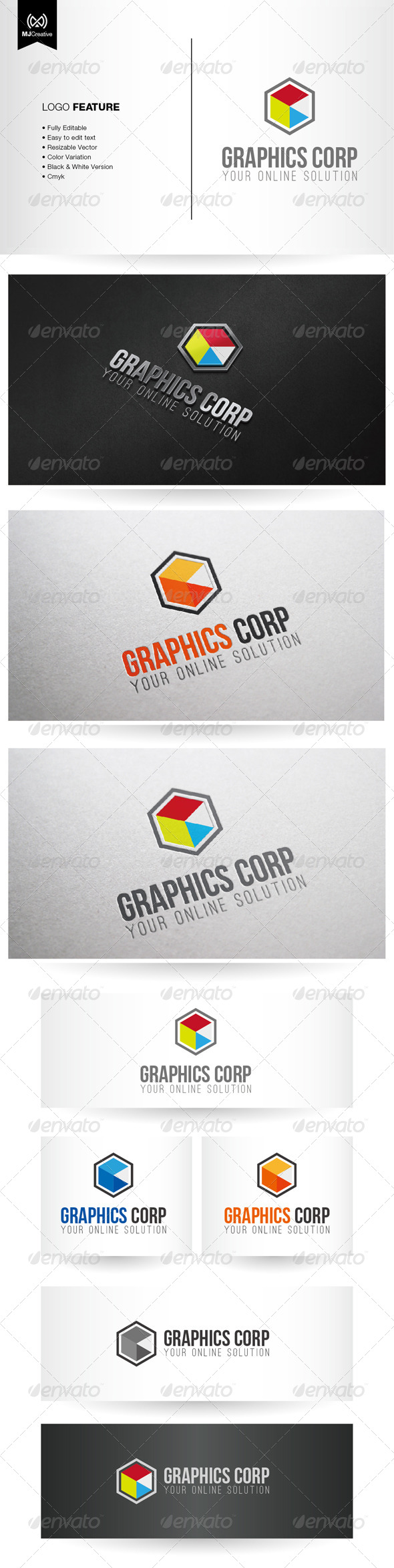 Graphics Logo - Vector Abstract