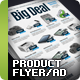 Product Flyer/Ad Vol. 6 - GraphicRiver Item for Sale