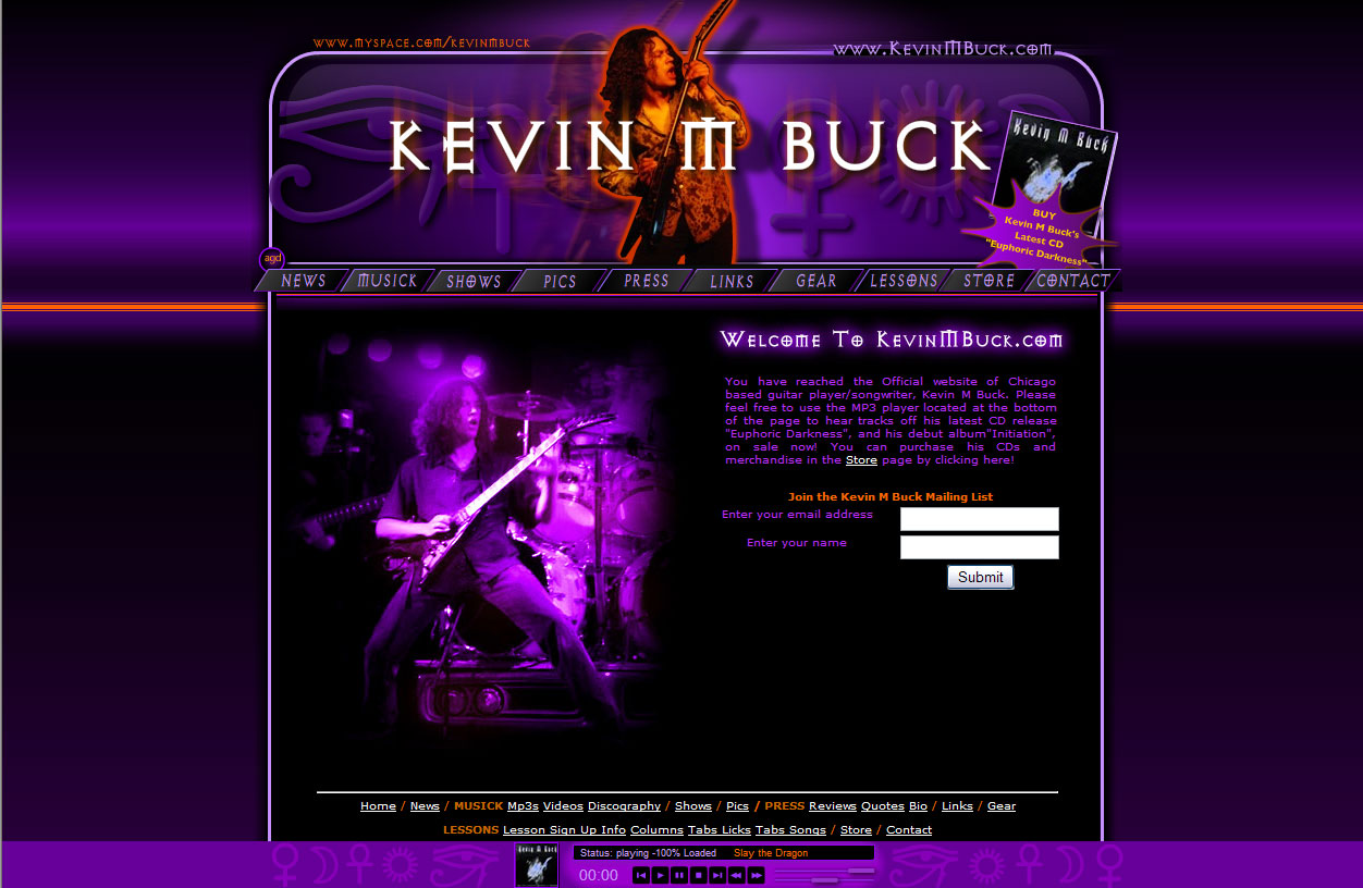 Kevin M Buck