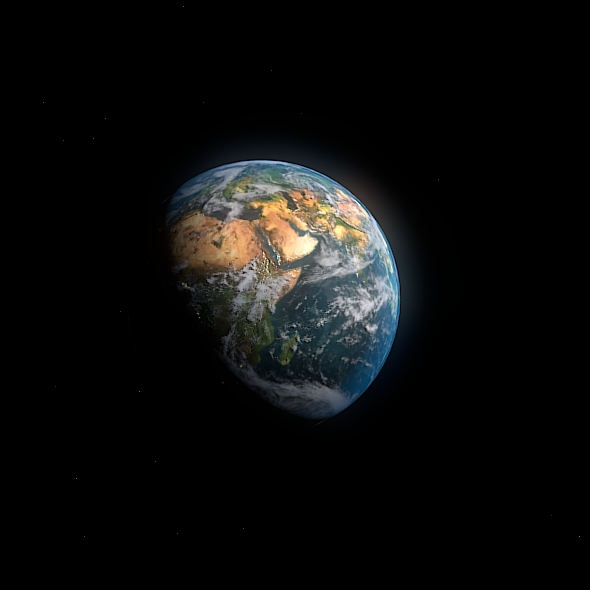 Planet Earth 1920x1080  - 3DOcean Item for Sale
