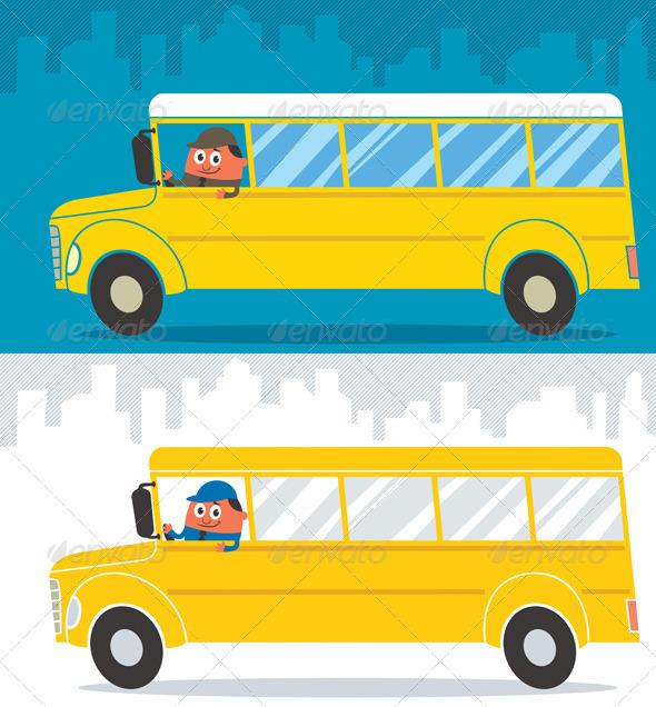 School Bus Driver - Conceptual Vectors