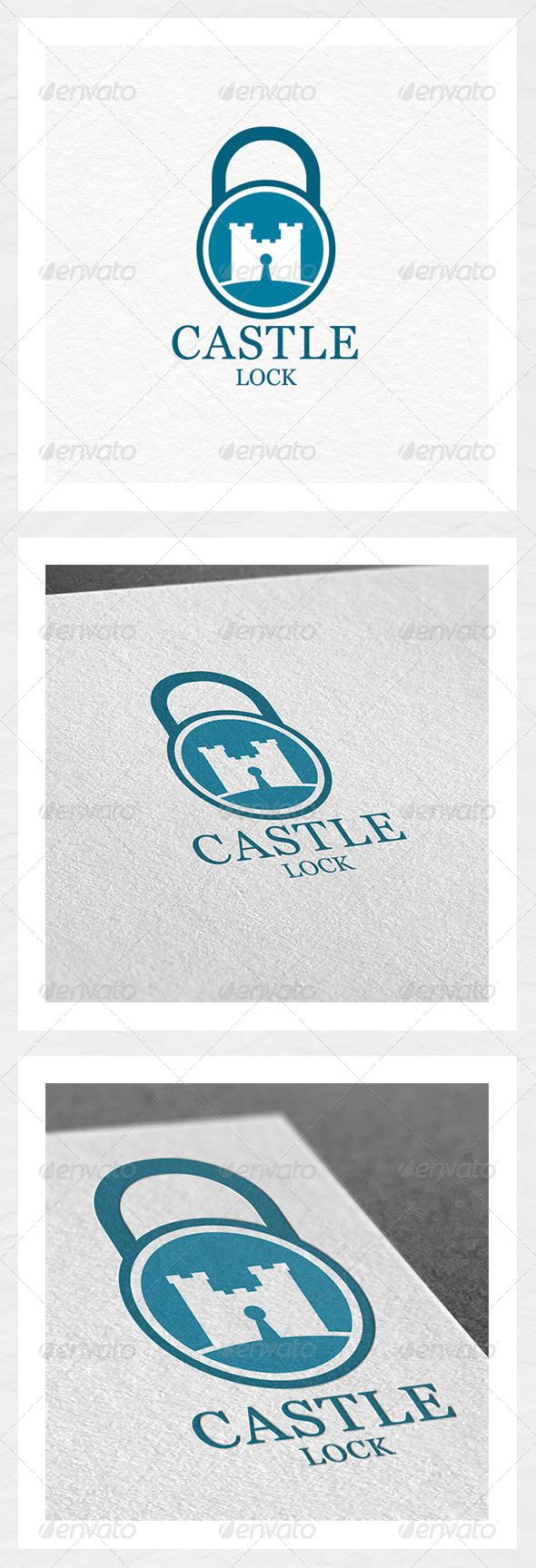 Castle Lock Logo Design - Objects Logo Templates