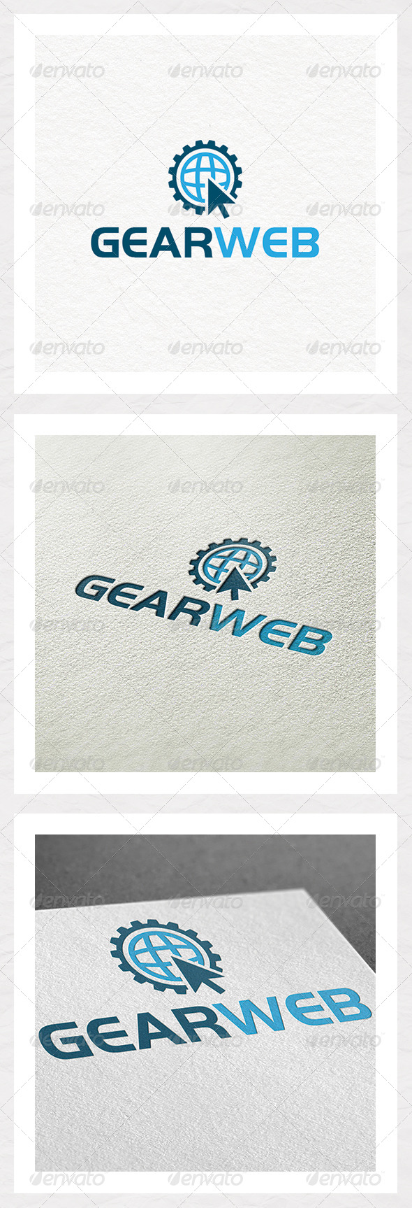 Gear Web - Symbols Logo Templates