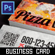 Business Card: Pizza & Pasta Food Delivery Service - GraphicRiver Item for Sale