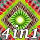 Space Flower - VJ Loop Pack (4in1) - VideoHive Item for Sale