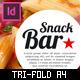 Tri-fold Brochure: Snack Bar Menu - GraphicRiver Item for Sale