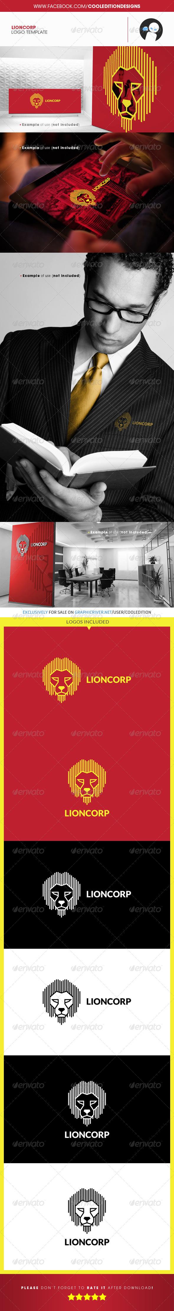 Lioncorp - Logo Template - Animals Logo Templates