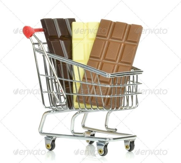 Buying Chocolate - Stock Photo - Images