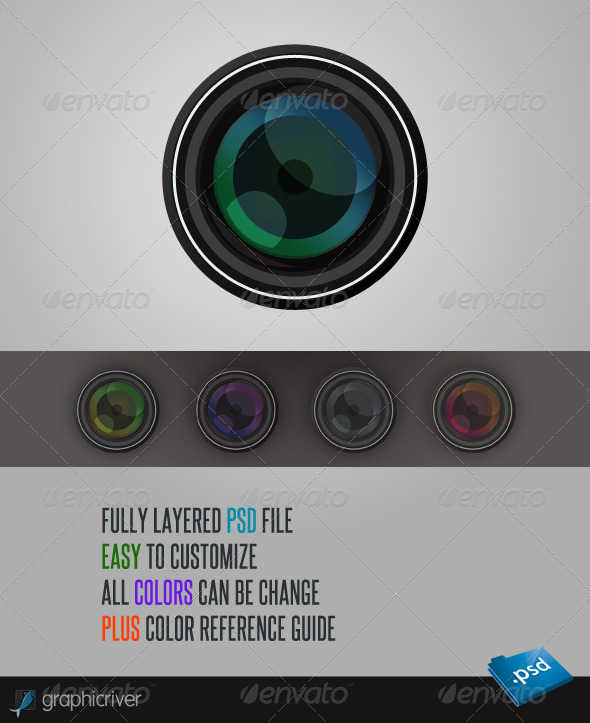 Camera Lens - Miscellaneous Graphics