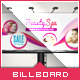 Beauty Spa & Wellness - Billboard Template - GraphicRiver Item for Sale
