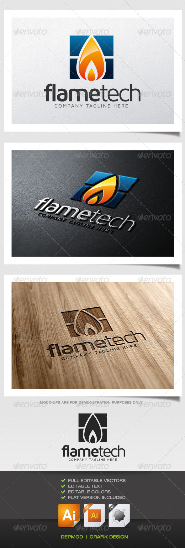 Flame Tech Logo