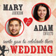 Wedding Invitations with RSVP - GraphicRiver Item for Sale