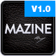 Mazine: Magazine / Blog WordPress Theme - ThemeForest Item for Sale