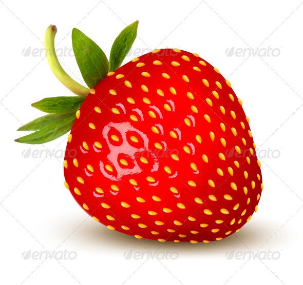 strawberry vector by almoond graphicriver rh graphicriver net strawberry vector art strawberry victoria sponge cake recipe