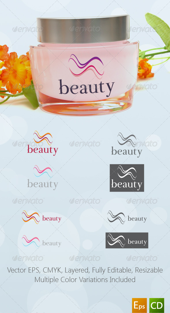 Beauty Salon Logo Template - Abstract Logo Templates