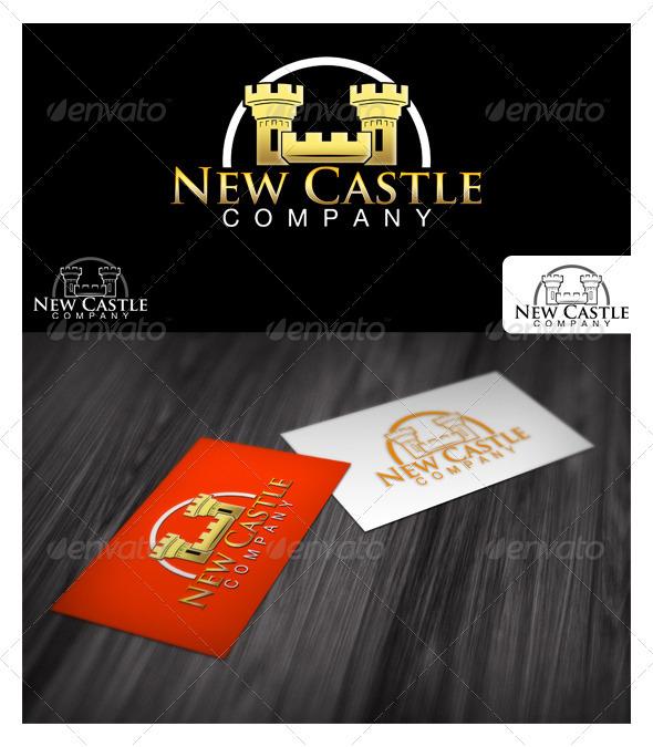 Castle Business Logo - Buildings Logo Templates