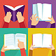 Vector Set of Hands Holding Books - GraphicRiver Item for Sale